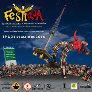 FestiRua 2016 - Cartaz Facebook